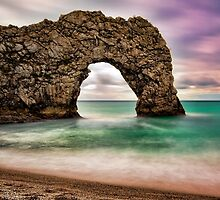 Durdle Door, Dorset, England by GrahamWhite