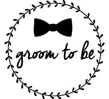 Groom to Be Photographic Print
