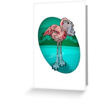 Mutant Zoo - Flamingopotamus Greeting Card