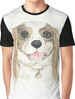 Cavalier King Charles Spaniel - Blenheim Graphic T-Shirt