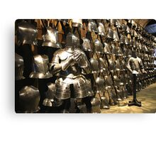 The Fashion Parade of Armour for the Ordinary Soldier Canvas Print