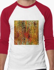 Portofino Abstract Men's Baseball ¾ T-Shirt