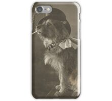 Tophat Dog iPhone Case/Skin