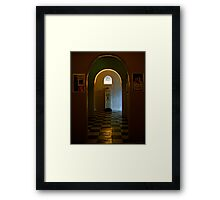 To The Ladies Room Framed Print