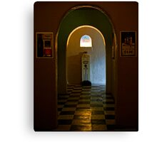 To The Ladies Room Canvas Print