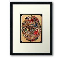 Devil Woody Framed Print