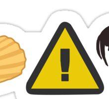 Chip DangerCock Sticker