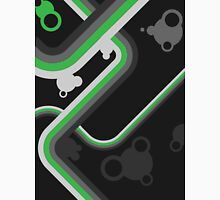 Graphic Linework Illustration - Green Unisex T-Shirt