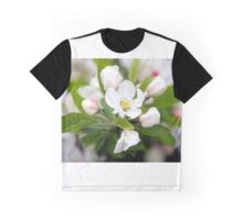 Sour Cherry Blossoms - Prunus cerasus Graphic T-Shirt