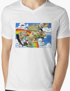 ONE PIECE #12 Mens V-Neck T-Shirt