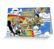 ONE PIECE #12 Greeting Card