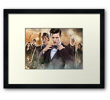 Doctor Who 50th Anniversary Framed Print