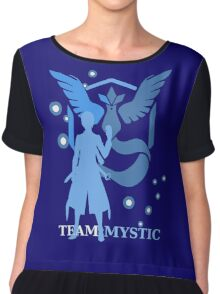 Pokemon GO - Team Mystic Captain Chiffon Top