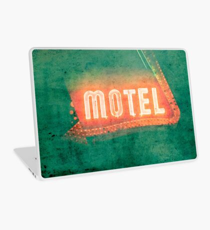 Old Motel Laptop Skin