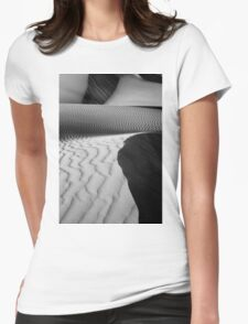 Dune Patterns, Western Australia Womens Fitted T-Shirt
