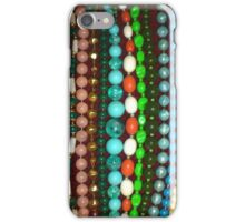 Vintage Bead Necklaces Jewellery iPhone Case/Skin