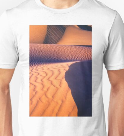 Dune Patterns, Western Australia Unisex T-Shirt