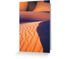 Dune Patterns, Western Australia Greeting Card