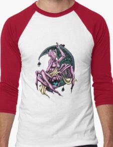 Moon Goddess Men's Baseball ¾ T-Shirt
