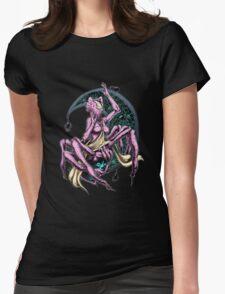 Moon Goddess Womens Fitted T-Shirt