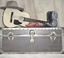 A Cowboy's Trunk of Treasures by Sherry Hallemeier
