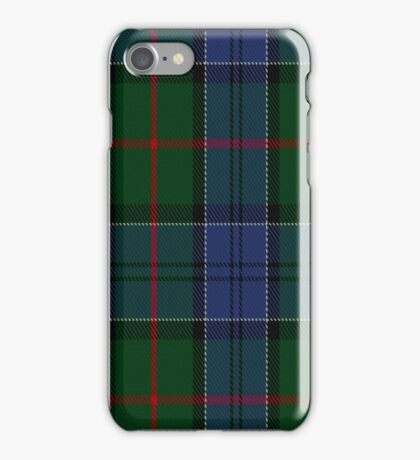 01047 Colquhoun Clan/Family Tartan  iPhone Case/Skin