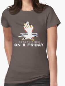 Radiohead - ON A FRIDAY Womens Fitted T-Shirt