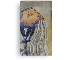 Toothdrain tendrils Canvas Print
