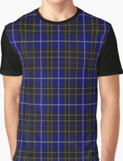 01044 College of Radiographers Tartan Graphic T-Shirt