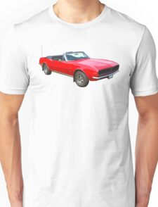 1967 Convertible Red Camaro Muscle Car Unisex T-Shirt