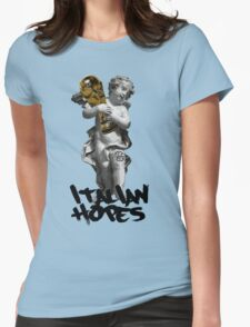 Italian hopes Womens Fitted T-Shirt
