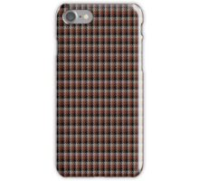 01040 Coigach Tweed (Gun Club Check) District Tartan  iPhone Case/Skin