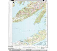 USGS TOPO Map Alaska AK Cordova C-6 355195 2000 63360 iPad Case/Skin