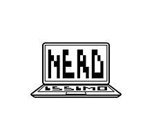 Nerd logo by sick-boy