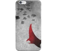Manta Two iPhone Case/Skin