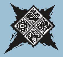 Monster Hunter Generations/Cross Logo Baby Tee