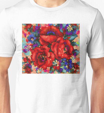 Tuscan Poppies Unisex T-Shirt