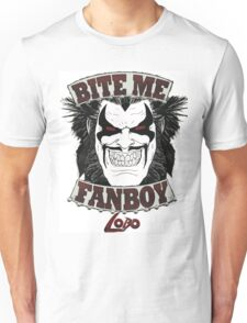 Lobo Bite Me Fanboy  DC comics  Unisex T-Shirt