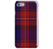 01026 Club World Tartan  iPhone Case/Skin