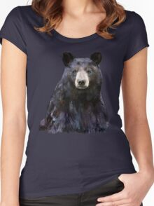 Black Bear Women's Fitted Scoop T-Shirt