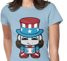 Onjena Yo Geo'bot - Patriot Womens Fitted T-Shirt