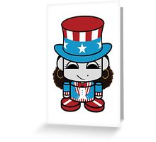 Onjena Yo Geo'bot - Patriot Greeting Card