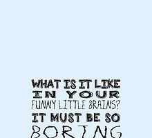 Funny Little Brains - SHERLOCK by sephinta