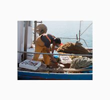 Weighing the Catch Unisex T-Shirt