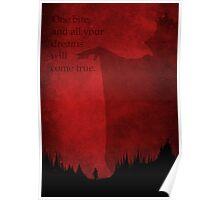 Snow White inspired design (Part 3 of 3). Poster