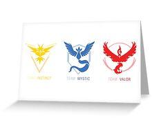 Three Teams Greeting Card