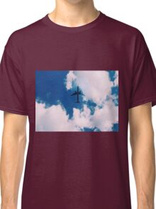 Plane in Clouds Classic T-Shirt