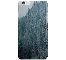 Evergreens in the Mountain iPhone Case/Skin