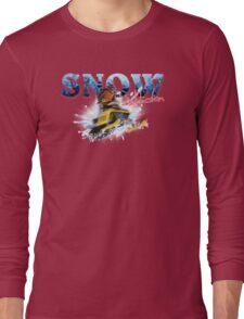 Snow Addiction Long Sleeve T-Shirt