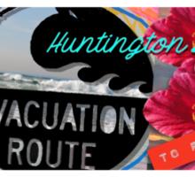 Huntington Beach Sticker Sticker